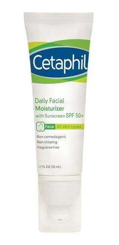 Crema Cetaphil Hidratante Diario Facial Con Protector Spf 50