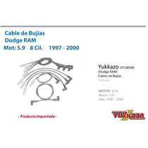 Cable Bujias Dodge Ram Mot5.9 8cil 1997-2000