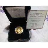 Moneda De Oro 70 Aniversario Bcv