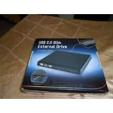 Dvd Blu Ray   Usb 2.0 Portable Slim Series Externo