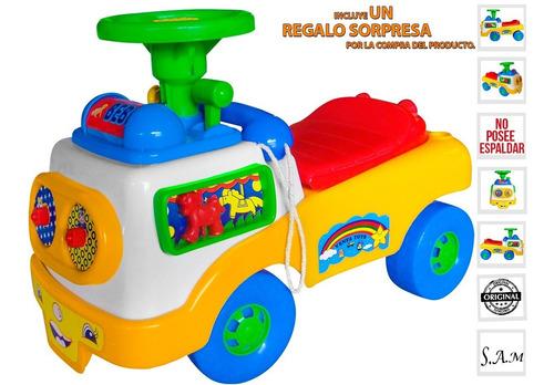 Carro Montable Infantil Unisex Juegos Didacticos Diversion