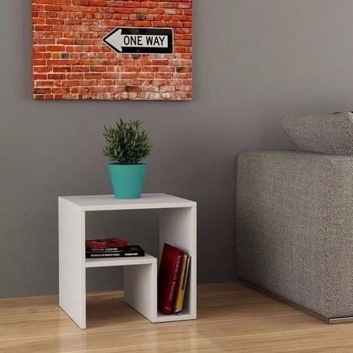 Mueble repisa minimalista biblioteca moderna sala for Mueble comedor minimalista