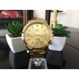 Reloj Mk Dorado Para Damas