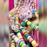 Arcilla Polimérica Pucas Gomitas Pulseras Variedad Colores