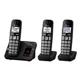 Teléfono Panasonic  Con 2 Auxiliares Muchas Funciones