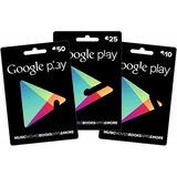 Google Play -music -games -aplicaciones -saldo