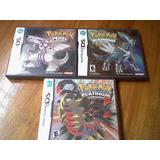 Juegos Ds Pokemon Perla, Platinum Y Diamante