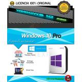 Licencia 100% Original Windows 10 Pro Mak 20 Pc Facturamos