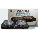 Cocina Electrica 2 Hornillas Original Fortunne 2000w