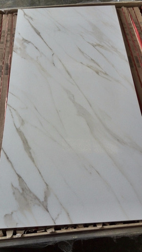 Porcelanato espa ol rectificado marmol carrara 100x50 bs f for Marmol carrara precio