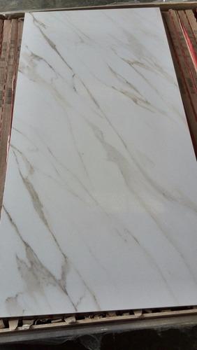 Porcelanato espa ol rectificado marmol carrara 100x50 bs f for Porcelanato rectificado