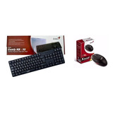 Kit Geniusteclado Kb-10 Y Mouse Genius Usb Pc Laptop Tablet
