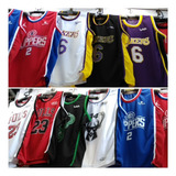 Camiseta Franelilla Basquetbol Basket Lakers Warriors Bulls