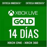 Xbox Live Gold 14 Días De Prueba - Xbox One / 360 - Código