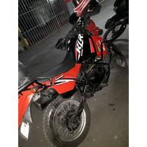 Klr 650 Kawasaki Roja!!!!
