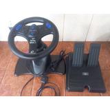 Juego De Volante Y Pedales Racing Wheel 2.