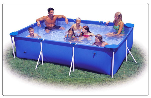Piscina intex rectangular 3 x 2 x 75cm bs vasv8 for Piscinas intex precios