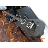 Guitarra Eléctrica Prs Se Singlecut Gris Negro Traslúcido