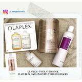 Kit Olaplex 1,2y3 +fanola No Yellow+blondme+oxigenda Blondme