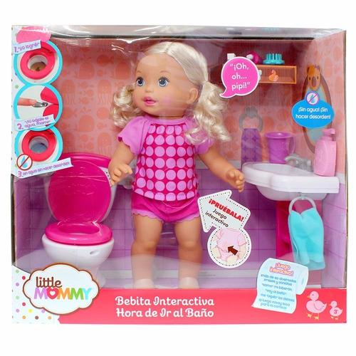 Juegos De Ir Al Baño:My Little Mommy Muñeca Aprendiendo Ir Al Baño Interactiva BsF45990