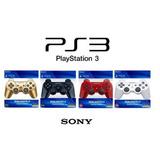 Control Ps3 Inalambrico Sony Dualshock 3 Colores Tienda