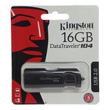 Pendrive Kingston Datatraveler 104 16gb Usb 2.0 Nuevo Sellad