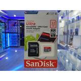 Memoria Micro Sd 32 64 Gb   Adaptador Sandisk
