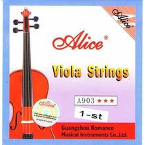 Cuerda La (1ra) De Viola