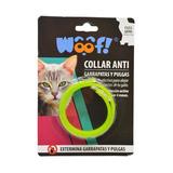 Collar Antipulgas Para Gatos 30cm Marca Woof!