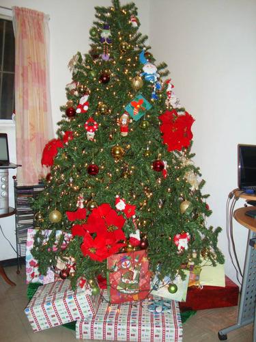 Frondoso arbol de navidad incluye adornos y luces - Arboles de navidad precios ...