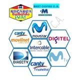Recargar Saldo Movistar Movilnet Digitel Directv Cantv Inter