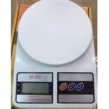 Balanza Peso Digital Cocina 10kg X 1gr Portátil Con Batería