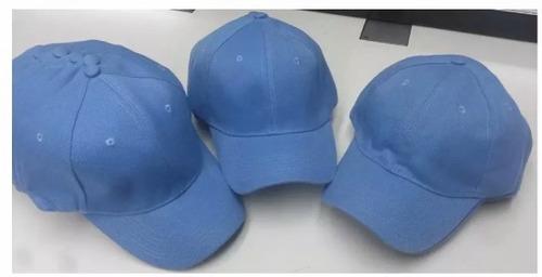 Gorras Azul Cielo Acrilica Unicolor Bordar (tienda Fisica) 7ef92093366