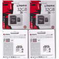 Memoria Microsd 32 Gb Kingston Para Celular, Gps, Mp3, Mp4.