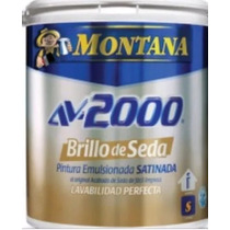 Pintura Montana Blanco (caucho) Brillo De Seda Clase A