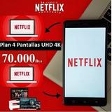 Cuentas Netflix Premium 4 Pantallas 4k Uhd I Precio Oferta!!
