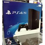 Ps4 Pro 1tb Nuevo + 3 Juegos Control Sony