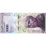 Billete Reposicion 1000 Bsf 2017 2do Intervalo