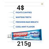 Crema Colgate Max Fresh Importada De Usa 215gr