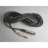 Cable Para Micrófono Canon Hembra-plug De 1/4 (oferta)