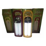 Lampara Led Recargable + Linterna Con Electricidad O Batería