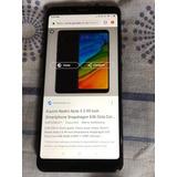 Tlf Xiaomi Redmi Note 5 De 64gb  Y 4 Gb De Ram 4gb