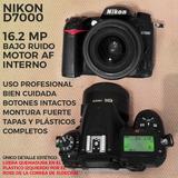 Camara Profesional Nikon D7000