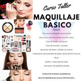 Curso Taller Maquillaje Basico  Maquillaje Profesional Cejas