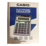 Calculadora Casio Js-818v Para Negocio Local Bodega Ventas