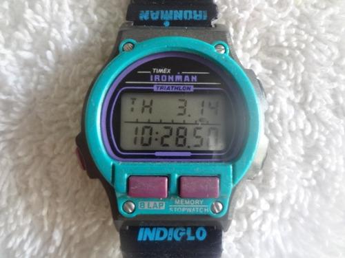 d9ca0106f4f5 Reloj Timex Ironman Triathlon De Dama (detalle En La Correa)