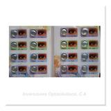 Lentes Contacto Tri Color Pigmentados Protección Uv