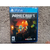 Minecraft Ps4 Nuevo Sellado