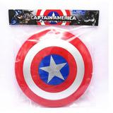 Escudo Capitán América  Tamaño Real Con Luces Y Sonido