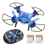 Mini Dron / Niños Y Principiantes Snaptain Sp310 + Control
